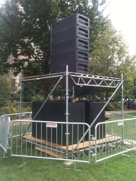 Stage Curtain Rental Event Scaffold Superior Scaffold Services