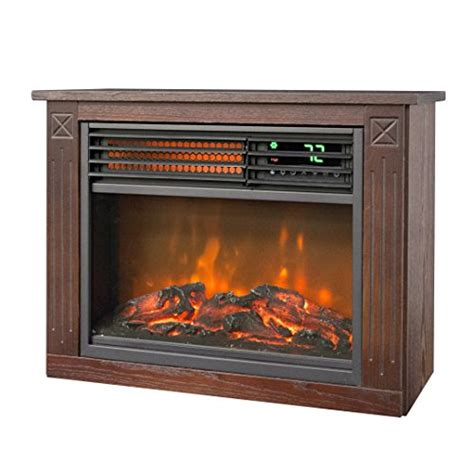 lifesmart infrared fireplace lifesmart large room infrared quartz fireplace in