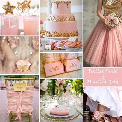pink and gold wedding motif your wedding color story part 2 gold wedding colors