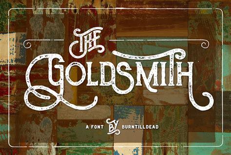 dafont vintage the goldsmith vintage font dafont com