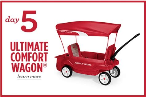 ultimate comfort wagon day 5 of radio flyer winning month thrifty momma ramblings