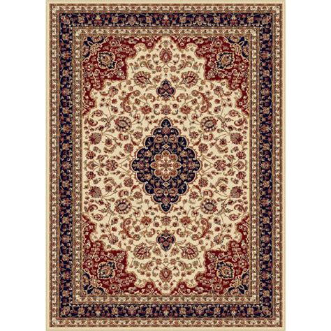 12 X 9 Area Rug Tayse Rugs Sensation Beige 8 Ft 9 In X 12 Ft 3 In Traditional Area Rug 4782 Ivory 9x12 The