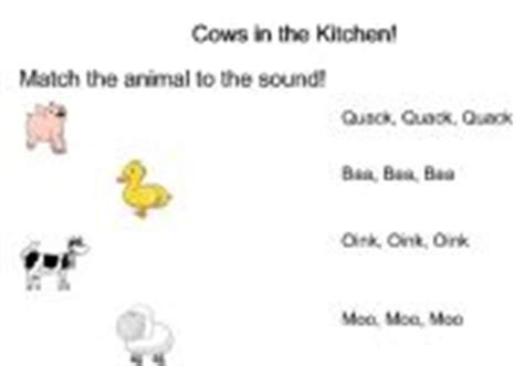 Cows In The Kitchen Story by Worksheets Cows In The Kitchen