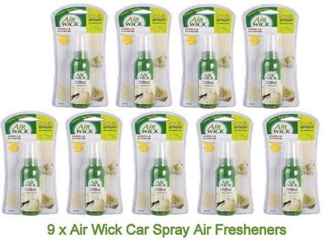 Parfum Mobilruangan Doorfree Newcar 9 x air wick car spray air freshener vanilla premium fragrance new