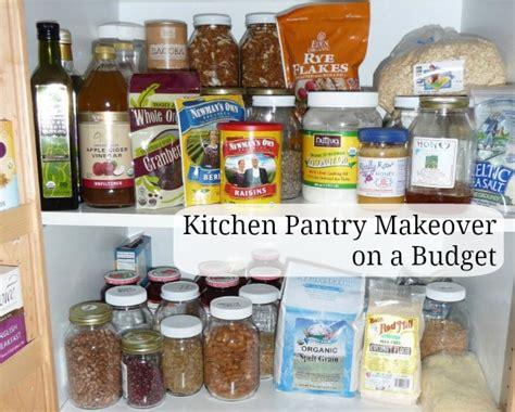 Kitchen Pantry Makeover by Kitchen Pantry Make Overs On A Budget The Nourishing Home