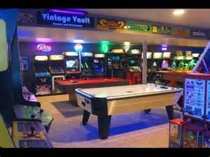 Walk Out Basement the basement arcade vintage vault arcade tour 2015 youtube