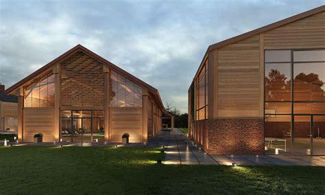contemporary farm house barn houses