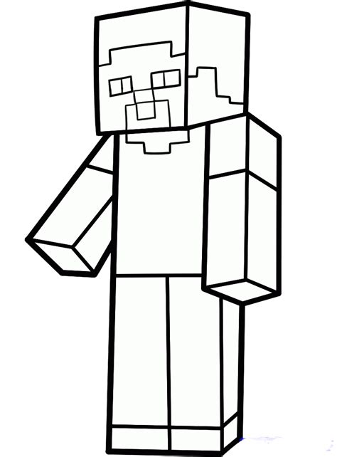 drawing how to draw a house and colour also how to draw colorear steve minecraft