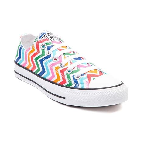 multi colored converse multi color wave length chucks chuck taylors