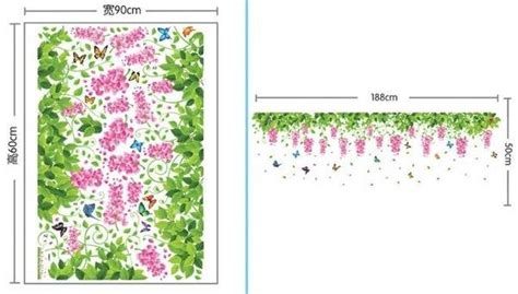 Wall Sticker 60x90 Wall Stiker Transparan Ay9097 Flower jual beli wall stickers stiker dinding wallstiker