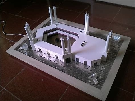 jual mahar pernikahan miniatur masjidil haram ka bah