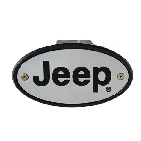 Jeep Hitch Cover Jeep Hitch Cover Chrome Engraved