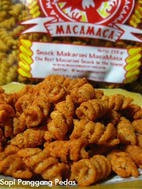 Macamaca Makaroni makaroni macamaca spesial macamaca snack makaroni