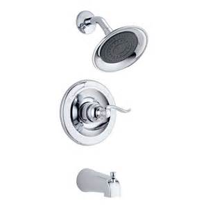 delta faucet bt14496 windemere monitorr tub shower trim
