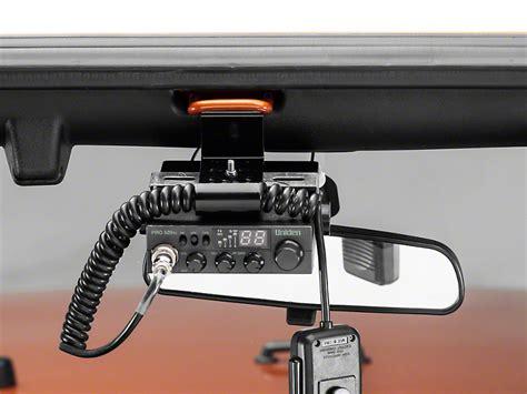 jeep wrangler cb rugged ridge wrangler cb radio antenna mount kit 11503