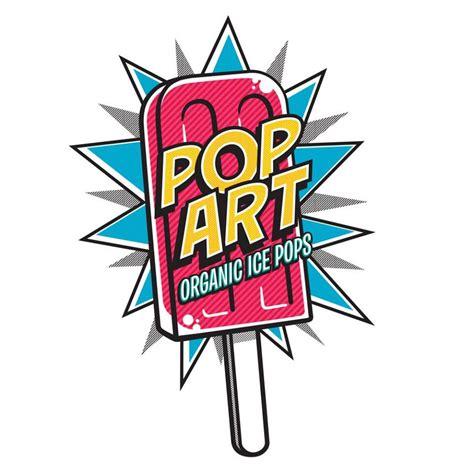 Logo Pop Green comic logos clipart vector design