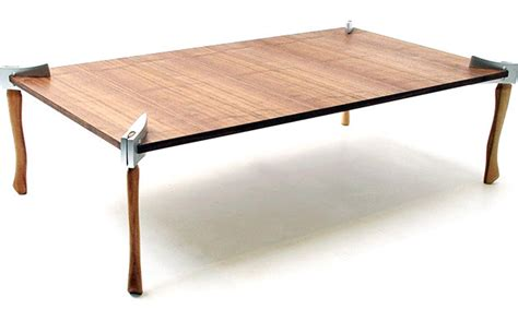 Woodsman axe coffee table gearculture