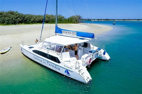 catamaran hire gold coast sailing in paradise offer cruises of the gold coast broadwater