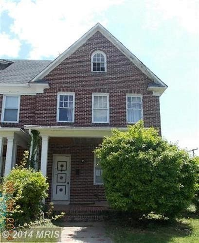 4117 woodhaven ave baltimore maryland 21216 foreclosed