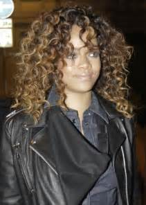 how to make american hair curly african american curly hairstyles from rihanna