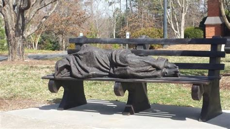 homeless jesus on park bench dentistry among the poor april 2014 update