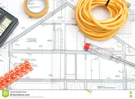 house design tools house building plan stock photo image 81331820