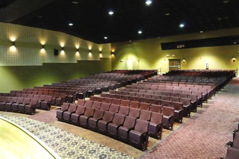 installation gallery theater seating dfc theater