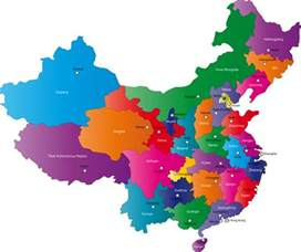 China Province Map by Chinese Provinces And Capital Cities Map Provinces Of China