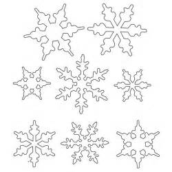 snowflake pattern templates snowflake patterns to trace coloring home