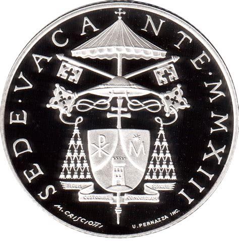 coin sede 5 sede vacante vatican city numista