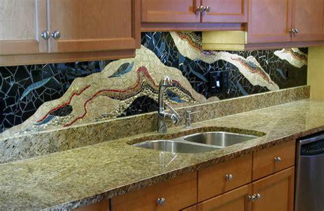 Mosaic Kitchen Countertop Ideas by Beautiful Designs Of Mosaic Backsplash Decozilla