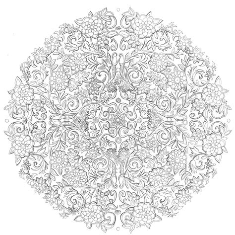 garden mandala coloring pages last days in the secret garden by namtia on deviantart