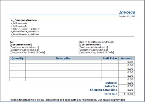 invoice record keeping template vendor independent contractor