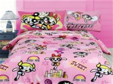 cartoon network comforter 3 piece set powerpuff girls