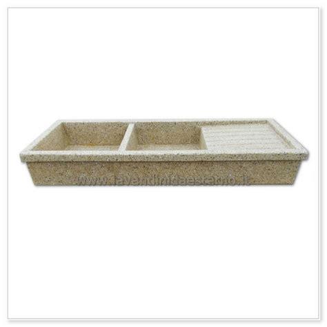 lavello in cemento lavello cucina acquaio in graniglia levigata 67 doppia vasca