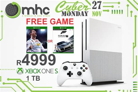 Xbox One S 1tb New Free Fullgames Bisa Pilih metro home centre cyber monday 2017 specials