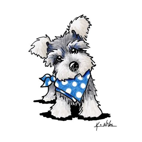 Decorate Pencil Box by Stunning Quot Miniature Schnauzer Quot Pencil Drawings And