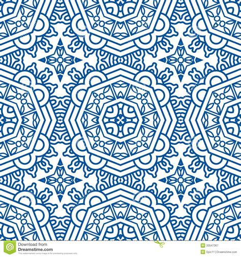 blue pattern vintage background seamless blue retro pattern background royalty free stock