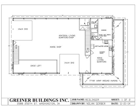 The House Plan Shop by Floor Plans For Metal Homes Metal Shop House Plans