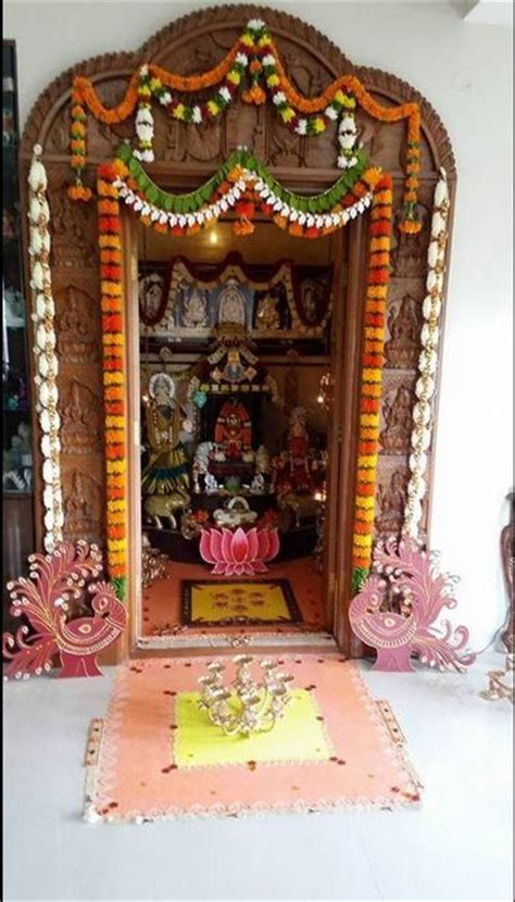 pooja decorations at home pooja room decoration ideas pooja bit ly 1manxb5 have a