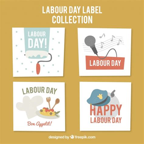 how to make a labour day card collection of happy labour day cards vector free