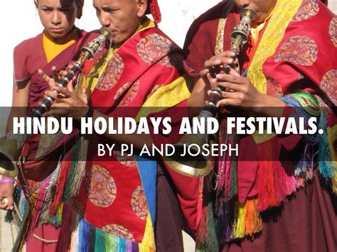hindu holiday and festivals by joseph tapia