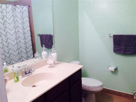 sea green bathroom my sea foam green bathroom bathroom colors pinterest