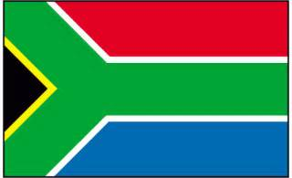 Large south african flag big south africa flag giant south african