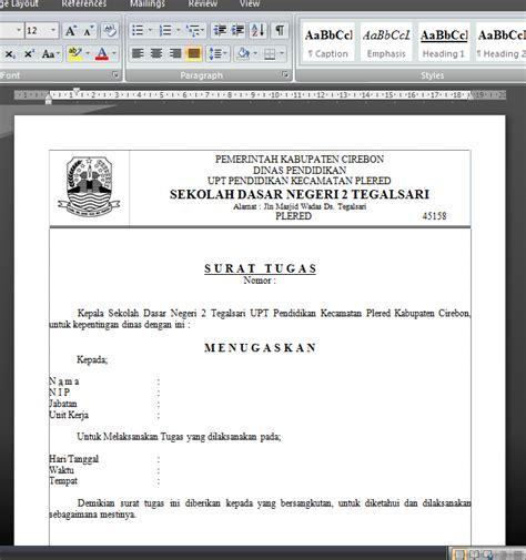 membuat surat berantai dengan mail merge membuat surat tugas kepala sekolah dengan fasilitas mail