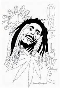 Coloring Pages Bob Marley Bob Marley Coloring Page Coloring Home