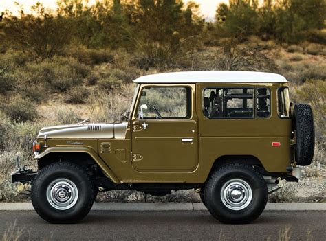 vintage jeep 1977 toyota fj40 land cruiser