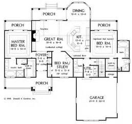 Floor Plans With 2 Master Suites 2 Master Suites House Plans Pinterest