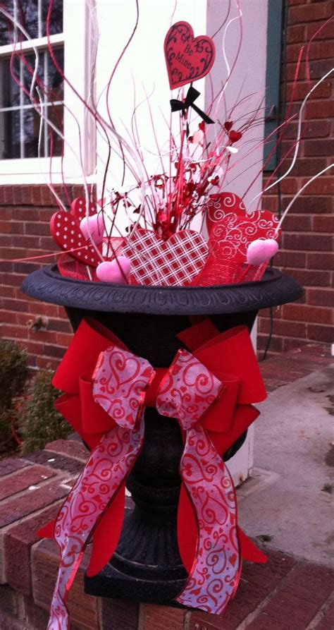 valentines day outdoor decorations ideas entry