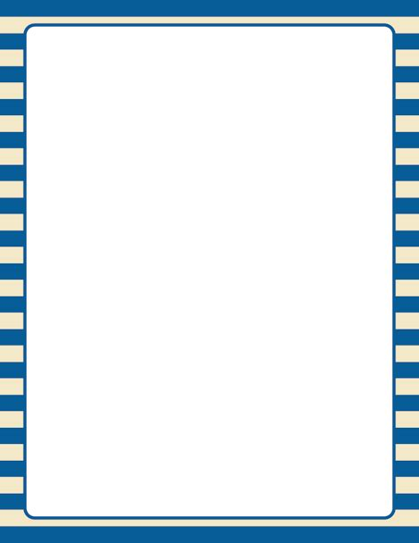 printable blue striped border use the border in printable blue and striped border use the border in microsoft word or other programs for